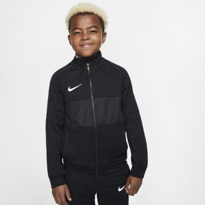 Chamarra de fútbol para niños talla grande Nike Dri-FIT Mercurial