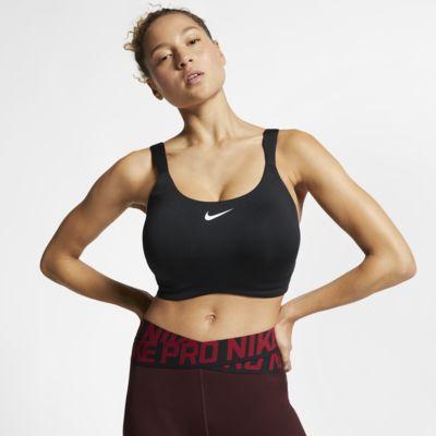 Nike Bold sports-BH med mye støtte til dame (store størrelser)