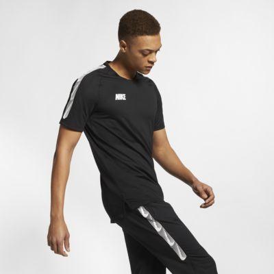 Nike Breathe Squad Kurzarm-Fußballoberteil für Herren