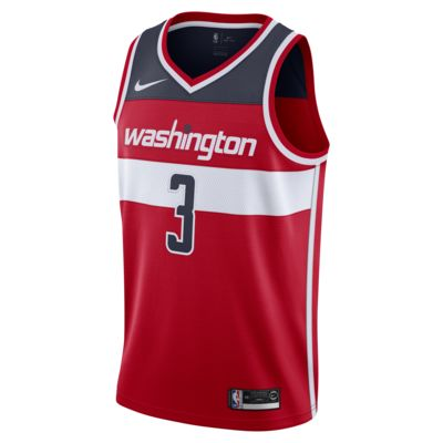 Bradley Beal Icon Edition Swingman (Washington Wizards) tilkoblet Nike NBA-drakt til herre