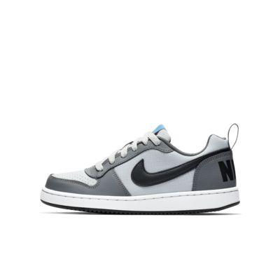 Calzado para niños talla grande Nike Court Borough Low