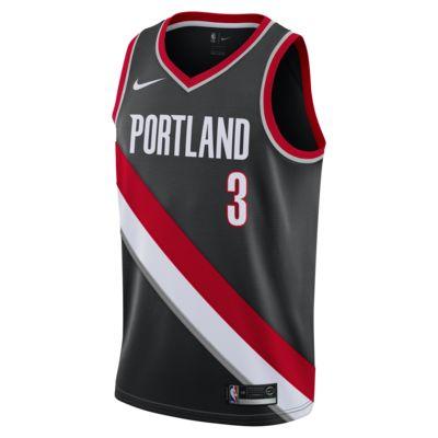 C.J. McCollum Icon Edition Swingman (Portland Trail Blazers) Camiseta Nike NBA Connected - Hombre