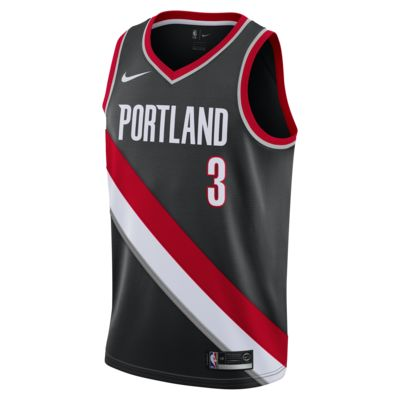 C.J. McCollum Icon Edition Swingman (Portland Trail Blazers) Nike NBA Connected Trikot für Herren