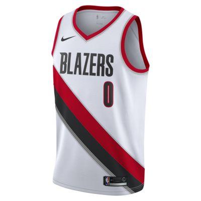 Camisola com ligação à NBA da Nike Damian Lillard Association Edition Swingman (Portland Trail Blazers) para homem
