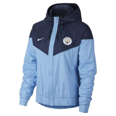 Jacka Manchester City FC Windrunner för kvinnor