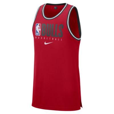 Haut sans manches NBA Chicago Bulls Nike Dri-FIT pour Homme