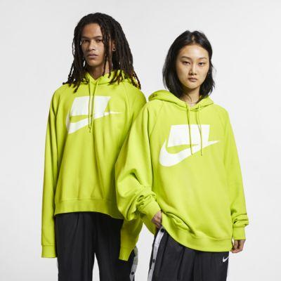Huvtröja i fransk frotté Nike Sportswear NSW