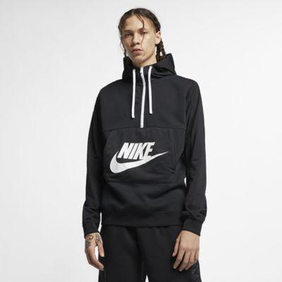Pánská mikina Nike Sportswear s kapucí a polovičním zipem