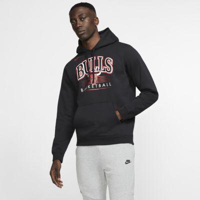 Sweat à capuche NBA Chicago Bulls Nike pour Homme