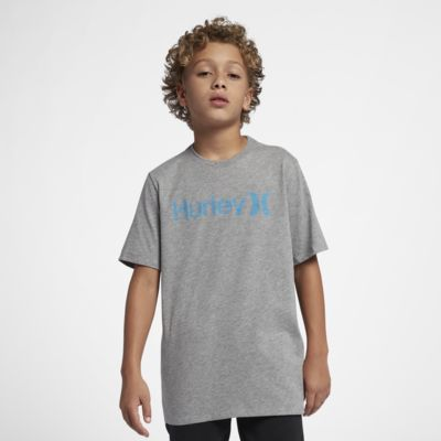 Hurley One And Only Push Through Big Kids' (Boys') T-Shirt