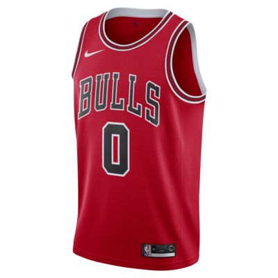Coby White (NBA) Icon Edition Swingman (Chicago Bulls) Men's Nike NBA Connected Jersey
