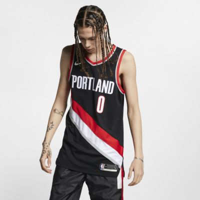 Damian Lillard Icon Edition Authentic (Portland Trail Blazers) Men's Nike NBA Connected Jersey