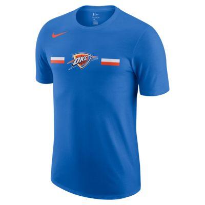 เสื้อยืด NBA ผู้ชาย Oklahoma City Thunder Nike Dri-FIT