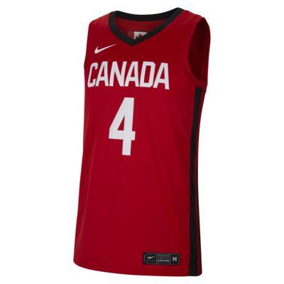 Męska koszulka do koszykówki Canada Nike (Road)