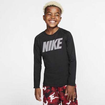 Nike Pro Warm Big Kids' (Boys') Long-Sleeve Crew