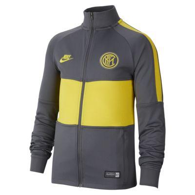 Conjunto de entrenamiento de fútbol para niños talla grande Inter Milan Strike