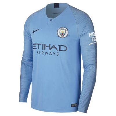 2018/19 Manchester City Fc Stadium Home by Nike