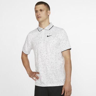 NikeCourt Dri-FIT 男子印花网球翻领T恤