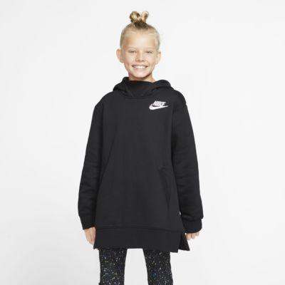 Flísová mikina Nike Sportswear pro větší děti (dívky)