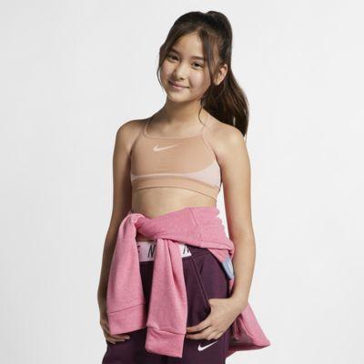 Утягивающее бра для девочек Nike