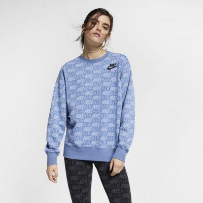 Nike Air Damesshirt met print en ronde hals