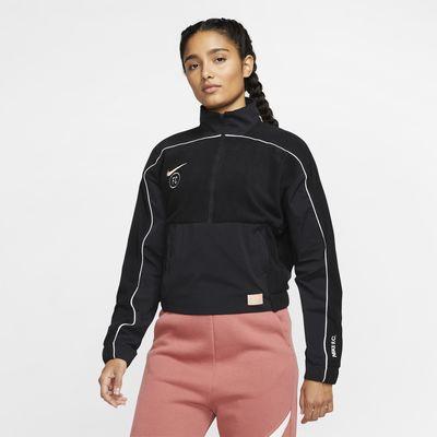 Damska bluza piłkarska z długim rękawem Nike F.C.