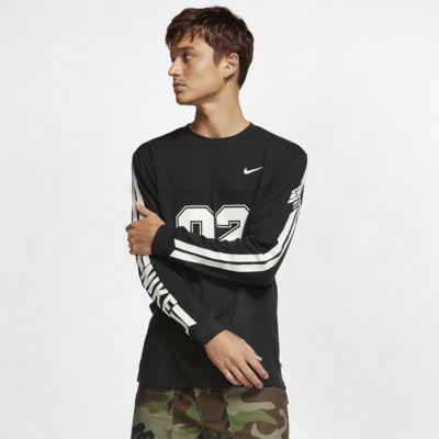 Męska siateczkowa koszulka z długim rękawem do skateboardingu Nike SB