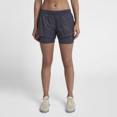 กางเกงวิ่งขาสั้น 2-in-1 ผู้หญิง Nike Run Division