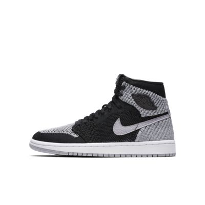 Кроссовки для школьников Air Jordan 1 Retro High Flyknit  - купить со скидкой