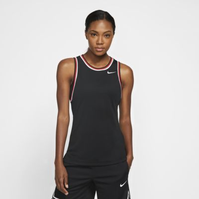 Nike Dri-FIT ärmelloses Basketballoberteil für Damen