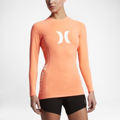 Hurley One And Only Women's Long Sleeve Surf Shirt