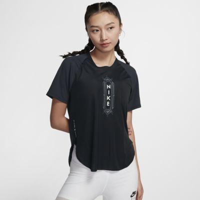 Nike City Sleek SHM 女子跑步上衣