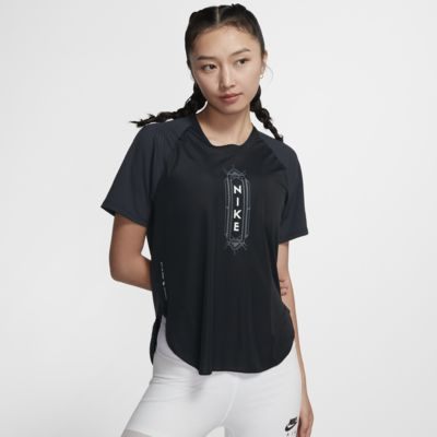 Nike City Sleek SHM 女子跑步上衣