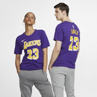 Los Angeles Lakers Nike Dri-FIT NBA-s férfipóló