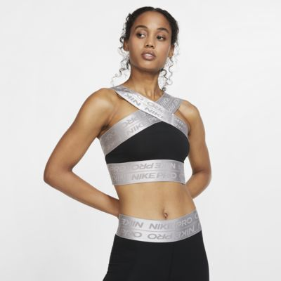 Nike Pro Kurz-Tanktop für Damen