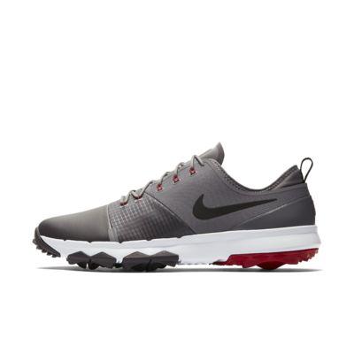 Купить Мужские кроссовки для гольфа Nike FI Impact 3, Пороховой дым/Thunder Grey/Тренировочный красный/Черный, 21490654, 12237182