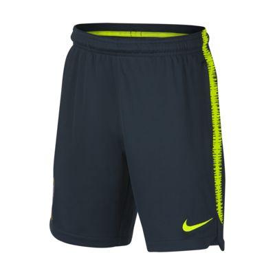 Shorts de fútbol para niños talla grande Brasil CBF Dri-FIT Squad