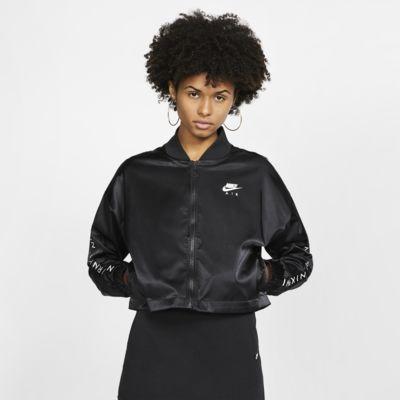 Veste de survêtement en satin Nike Air pour Femme