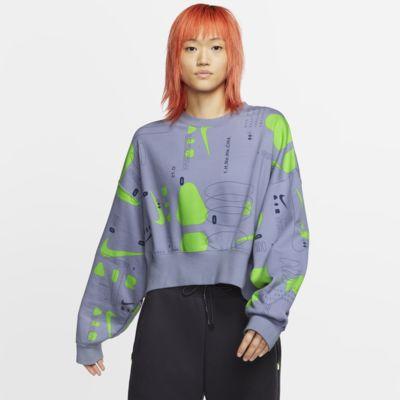 Nike Air Women's Printed Fleece Crew
