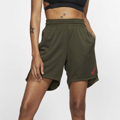 Nike Elite stickade basketshorts för kvinnor