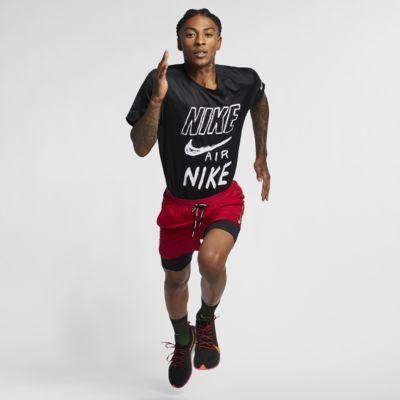 Maglia da running con grafica Nike Breathe - Uomo
