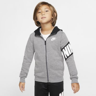 Nike Sportswear Little Kids' Full-Zip Hoodie