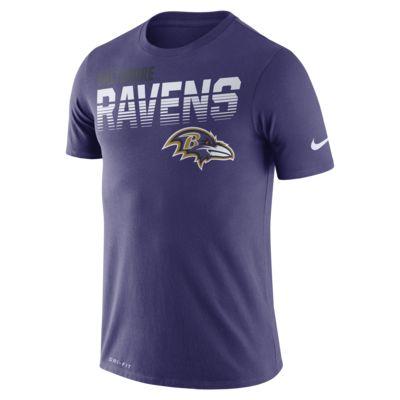 Nike Legend (NFL Ravens) Kurzarm-T-Shirt für Herren