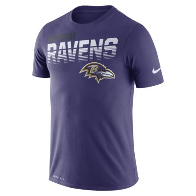 Nike Legend (NFL Ravens) Men's Long-Sleeve T-Shirt