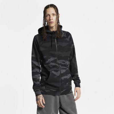 Jordan Jumpman Sudadera de camuflaje con capucha con cremallera completa