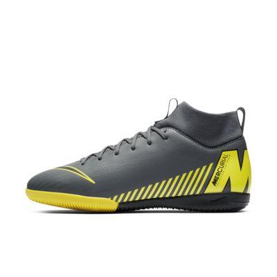 Calzado de fútbol para cancha cubierta para niños talla grande y pequeña Nike Jr. SuperflyX 6 Academy IC