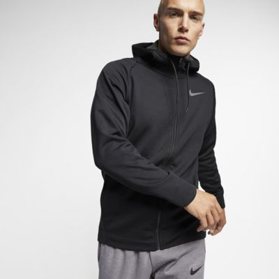 Nike Therma Men's Hooded Full-Zip Training Jacket