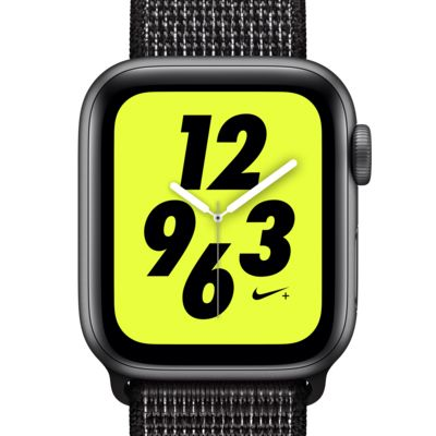 Apple Watch Nike+ Series 4 (GPS) mit Nike Sport Loop 40-mm-Sportuhr