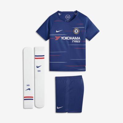 2018/19 Chelsea FC Stadium Home fotballdraktsett til små barn