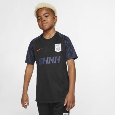 Kortärmad fotbollströja Nike Dri-FIT Neymar Jr. för ungdom